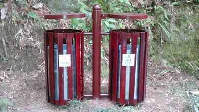 湖南大围山景区垃圾桶制作