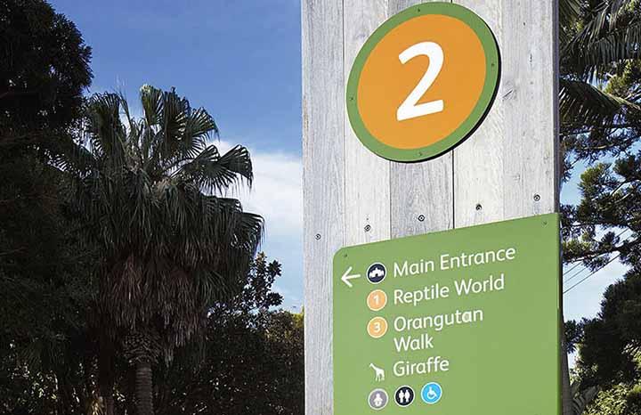 塔瑞噶野生动物园环境标识系统