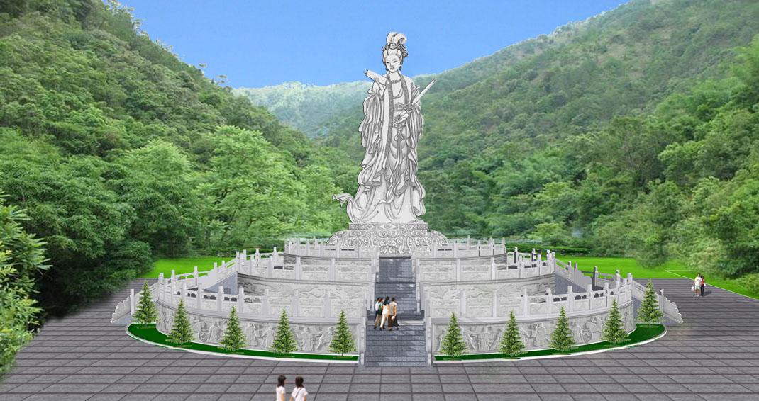 襄阳九天玄女风景区图片