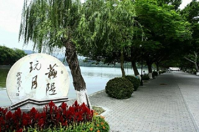惠州西湖风景区标识统一